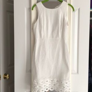 Kut from the Kloth white summer dress with lace